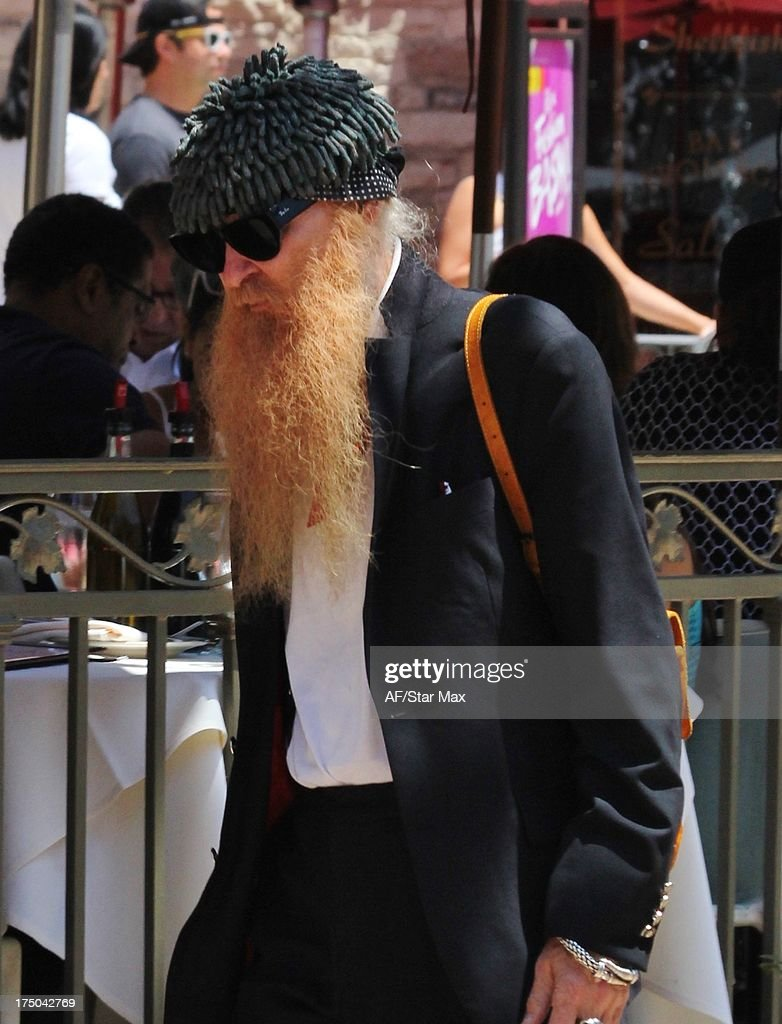 Musician <a gi-track='captionPersonalityLinkClicked' href=/galleries/search?phrase=Billy+Gibbons&family=editorial&specificpeople=242873 ng-click='$event.stopPropagation()'>Billy Gibbons</a> as seen on July 29 2013 in Los Angeles, California.