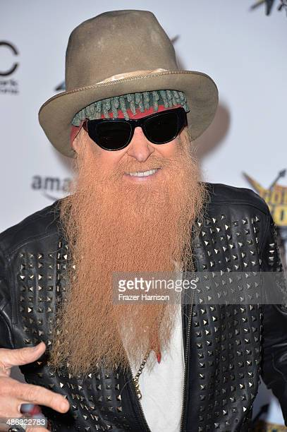 Musician Billy Gibbons attends the 6th Annual Revolver Golden Gods Award Show at Club Nokia on April 23 2014 in Los Angeles California