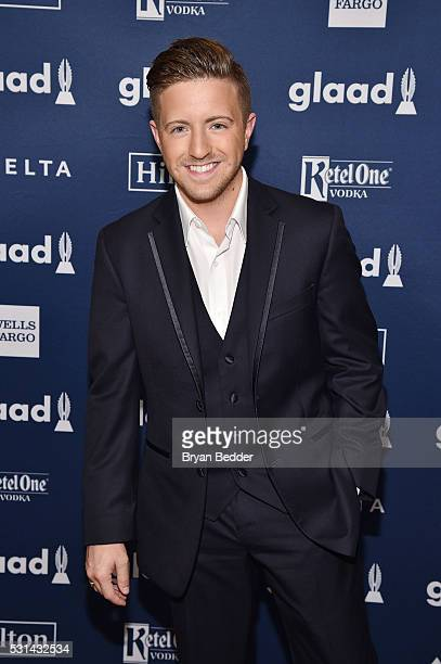 Musician Billy Gillman attends the 27th Annual GLAAD Media Awards in New York on May 14 2016 in New York City