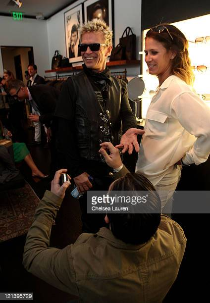 Musician Billy Idol attends John Varvatos 8th Annual Stuart House Benefit featuring KD Lang at John Varvatos Los Angeles on March 13 2011 in Los...