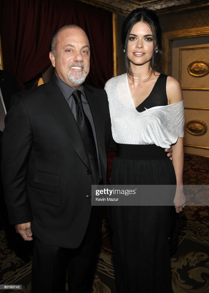 Musician Billy Joel and Katie Lee Joel at the 23rd Annual Rock and Roll Hall of Fame Induction Ceremony at the Waldorf Astoria on March 10, 2008 in New York City. *EXCLUSIVE*