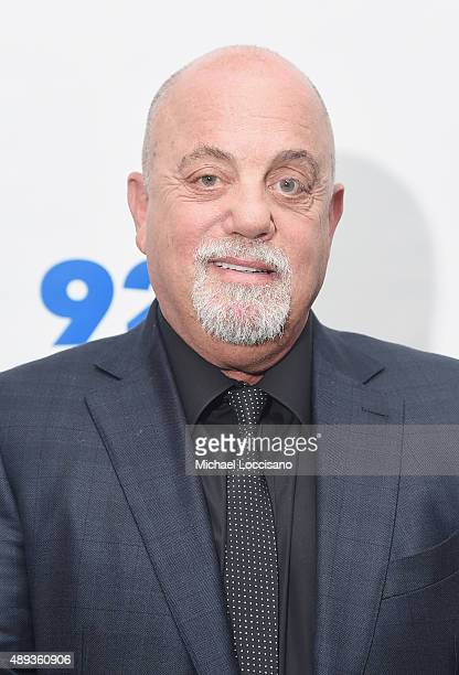 Musician Billy Joel attends Don Henley in Conversation with Billy Joel at 92Y on September 20 2015 in New York City