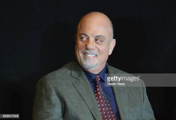 Musician Billy Joel attends Madison Square Garden's announcement of Billy Joel as their firstever music franchise and add May 9th show with exclusive...