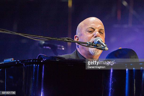 Musician Billy Joel performs on stage at PETCO Park on May 14 2016 in San Diego California