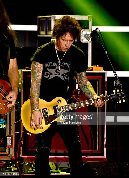 Musician Billy Morrison performs onstage during the first ever iHeart80s Party at The Forum on February 20 2016 in Inglewood California