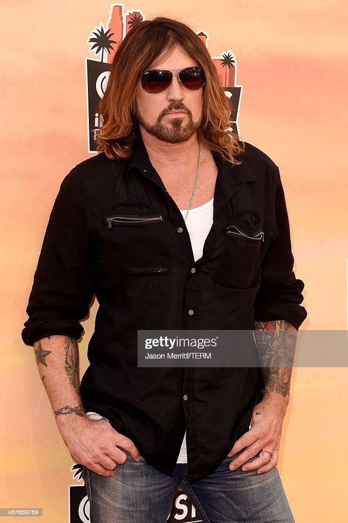 Musician Billy Ray Cyrus attends the 2014 iHeartRadio Music Awards held at The Shrine Auditorium on May 1, 2014 in Los Angeles, California. iHeartRadio Music Awards are being broadcast live on NBC.