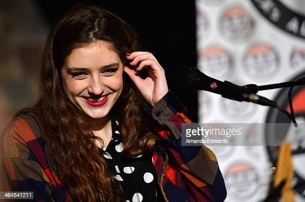 Musician Birdy performs onstage at the ALT 987FM Penthouse at The Historic Hollywood Tower on January 22 2014 in Hollywood California