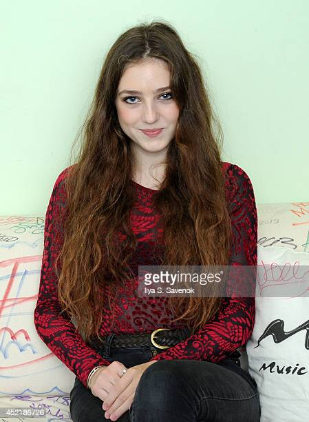Musician 'Birdy' visits Music Choice's 'You A' at Music Choice on July 15 2014 in New York City