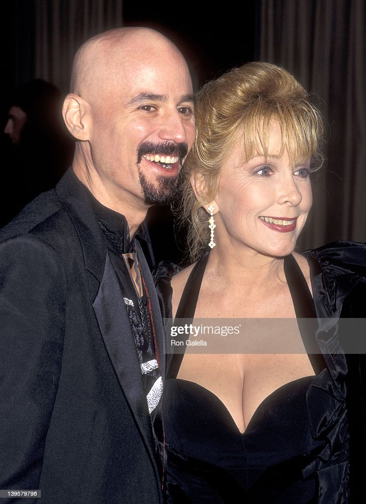 Musician Bob Kulick and actress Stella Stevens attend the 'Night of 200 Stars' Second Annual International Achievement in Arts Awards on December 2...