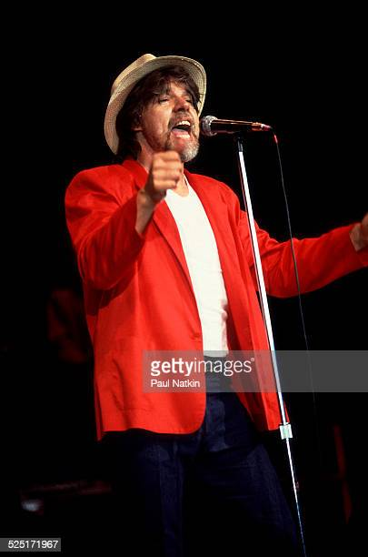 Musician Bob Seger performs at the Pine Knob Music Theater Clarkson Michigan August 26 1986