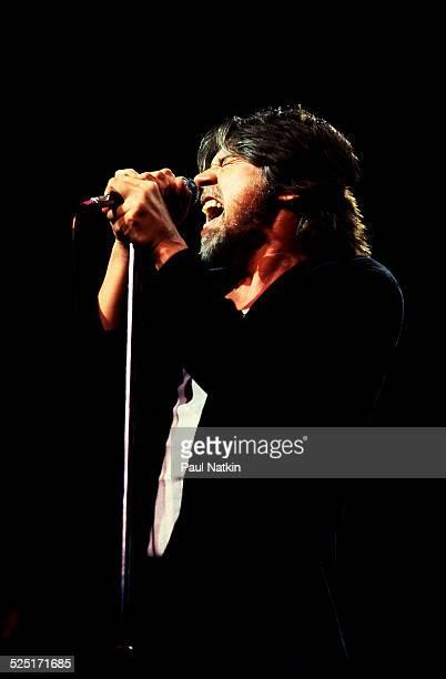 Musician Bob Seger performs at the Poplar Creek Music Theater Hoffman Estates Illinois August 13 1986