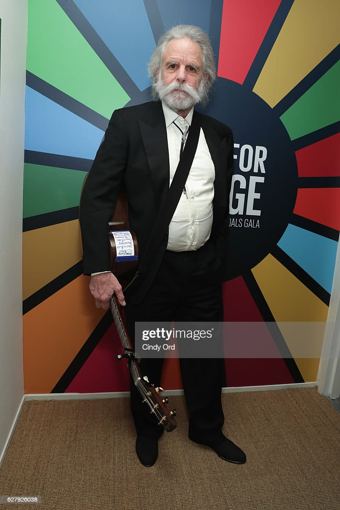Musician Bob Weir attends the United Nations Development Programme (UNDP) Inaugural Global Goals Gala: A Night for Change at Phillips in Manhattan on December 5, 2016 in New York City. (Photo by Cindy Ord/Getty Images for United Nations Development Programme (UNDP))