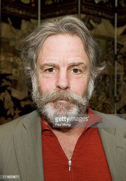 Musician Bob Weir poses for a photograph at a HeadCount fundraiser held in a private home on April 7 2008 in Washington DC