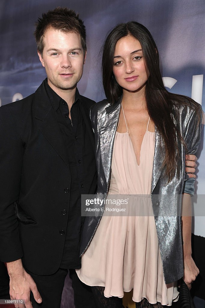 Musician Bobby Alt and actress Caroline D'Amore arrive to Paramount Pictures' 'Super 8' Blu-ray and DVD release party at AMPAS Samuel Goldwyn Theater on November 22, 2011 in Beverly Hills, California.
