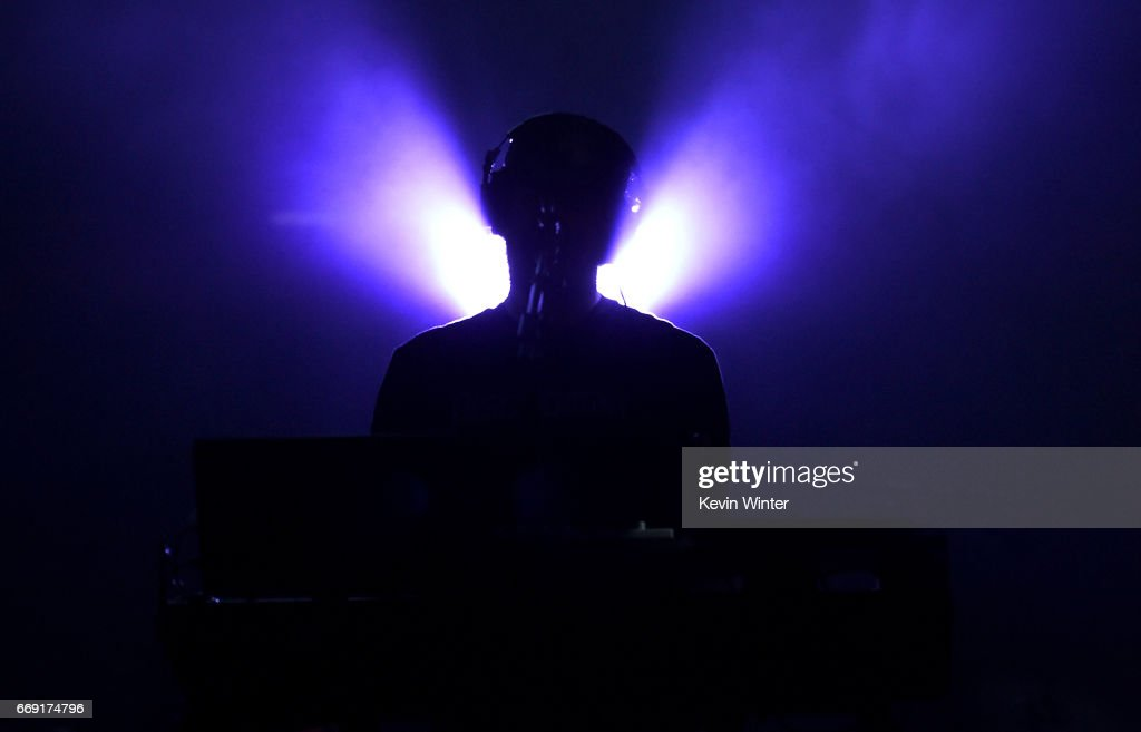 Musician Bon Iver performs on the Coachella Stage during day 2 of the Coachella Valley Music And Arts Festival (Weekend 1) at the Empire Polo Club on April 15, 2017 in Indio, California.