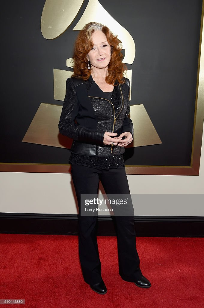 Musician Bonnie Raitt attends The 58th GRAMMY Awards at Staples Center on February 15, 2016 in Los Angeles, California.