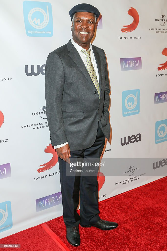 Musician Booker T. arrives at the NARM Music Biz Awards dinner party at the Hyatt Regency Century Plaza on May 9, 2013 in Century City, California.