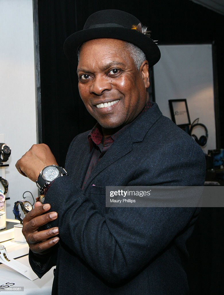 Musician Booker T. Jones attends the Gift Lounge at the 28th Rock and Roll Hall of Fame Induction Ceremony presented by I Can't Believe It's Not Butter! 'Breakfast After Dark' produced by On 3 Productions at Nokia Theatre L.A. Live on April 17, 2013 in Los Angeles, California.