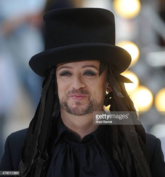 Musician Boy George performs on NBC's 'Today'at Rockefeller Plaza on July 2 2015 in New York City
