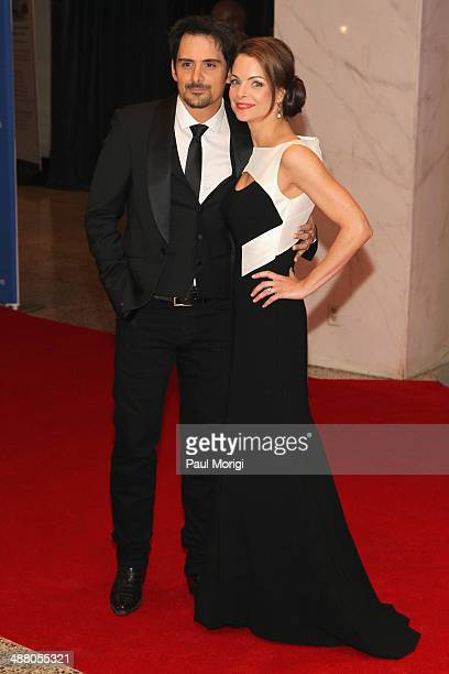 Musician Brad Paisley and actress Kimberly WilliamsPaisley attend the 100th Annual White House Correspondents' Association Dinner at the Washington...