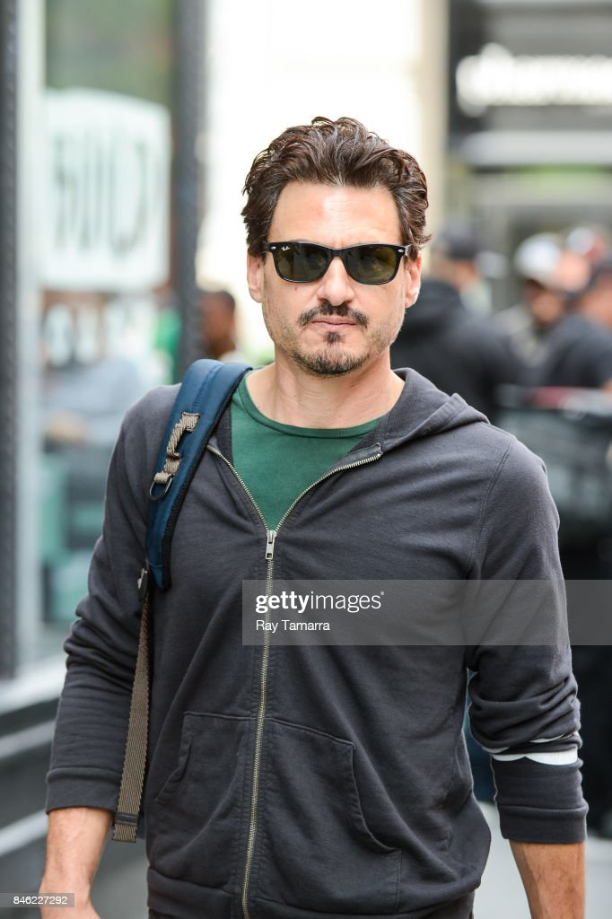 Musician Brad Wilk of Prophets of Rage leaves the 'AOL Build' taping at the AOL Studios on September 12, 2017 in New York City.