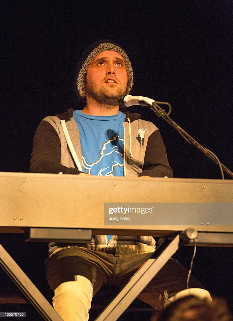 Musician Bradley Bell of Craig Owens performs at The Irving Theater on November 4, 2012 in Indianapolis, Indiana.