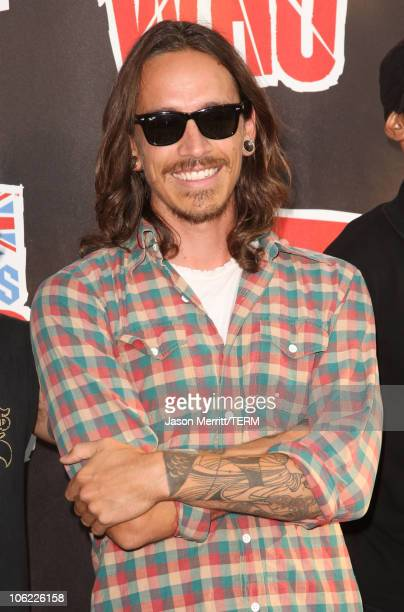 Musician Brandon Boyd of Incubus arrives at the 2008 VH1 Rock Honors honoring The Who at UCLA's Pauley Pavilion on July 12 2008 in Los Angeles...