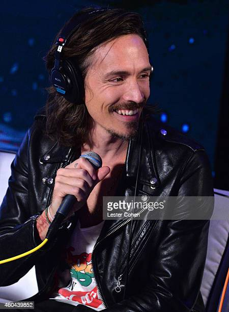 Musician Brandon Boyd of Incubus attends day one of the 25th annual KROQ Almost Acoustic Christmas at The Forum on December 13 2014 in Inglewood...