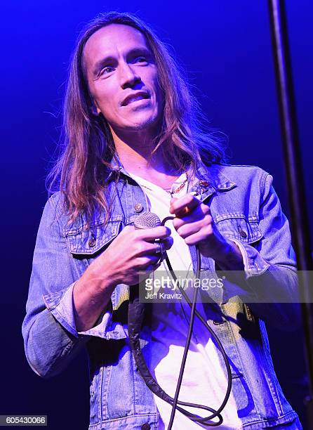 Musician Brandon Boyd performs onstage during Petty Fest 2016 at The Fonda Theatre on September 13 2016 in Los Angeles California