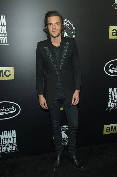 Brandon Flowers Musician Photos Pictures Of Brandon Flowers Musician Getty Images