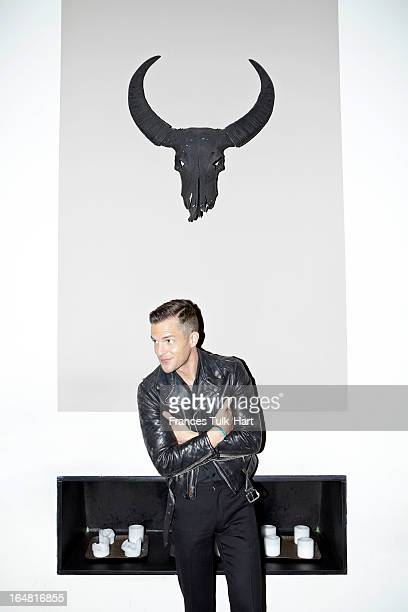 Musician Brandon Flowers of The Killers is photographed for Room 100 Magazine on October 19 2012 in New York City PUBLISHED IMAGE