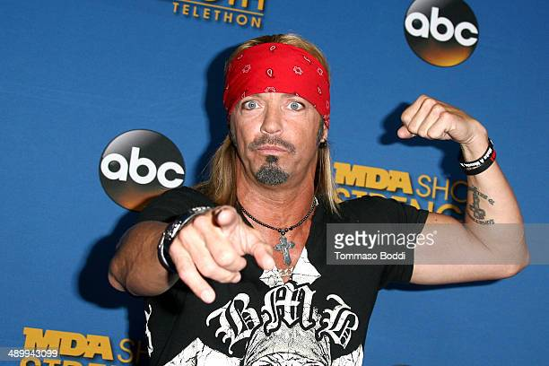 Musician Bret Michaels attends the 2014 MDA Show of Strength Telethon held at the Hollywood Palladium on May 12 2014 in Hollywood California