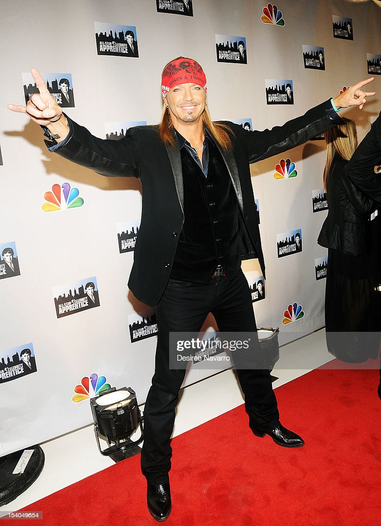 Musician Bret Michaels attends the 'Celebrity Apprentice All Stars' Season 13 Press Conference at Jack Studios on October 12, 2012 in New York City.