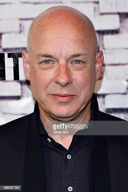Musician Brian Eno attends The Kitchen Spring Gala Benefit 2013 at Capitale on May 7 2013 in New York City