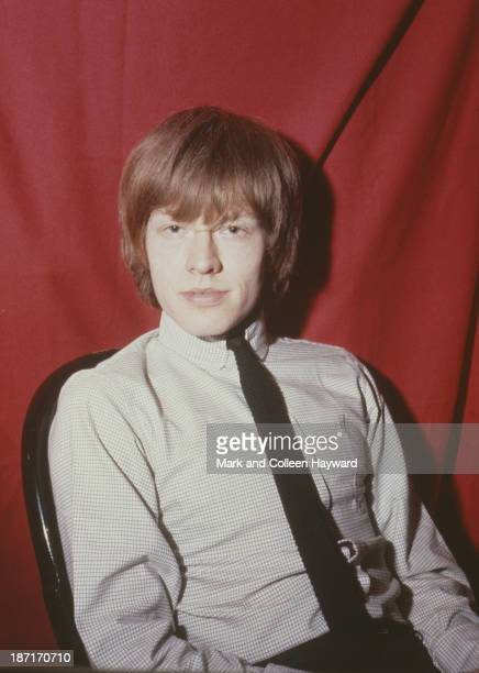 Musician Brian Jones from The Rolling Stones posed circa 1964