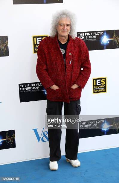Musician Brian May attends the Pink Floyd Exhibition Their Mortal Remains at the VA on May 9 2017 in London England