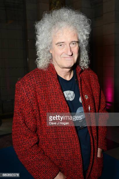 Musician Brian May attends The Pink Floyd Exhibition 'Their Mortal Remains' private view at The VA on May 9 2017 in London United Kingdom