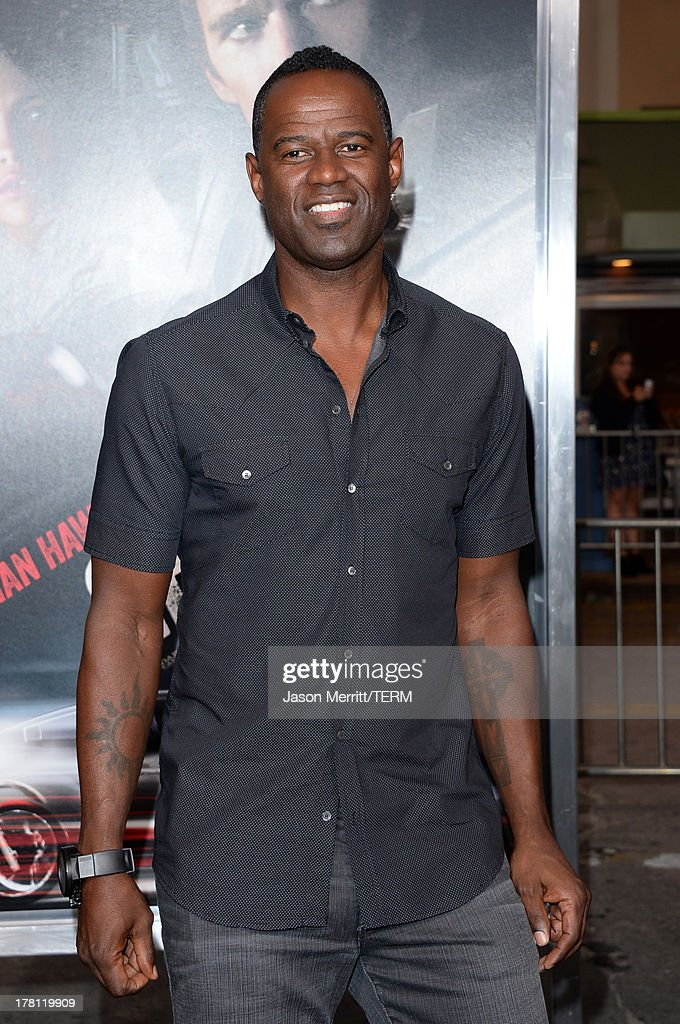 Musician Brian McKnight attends the premiere of 'Getaway' presented by Warner Bros. Pictures at Regency Village Theatre on August 26, 2013 in Westwood, California.