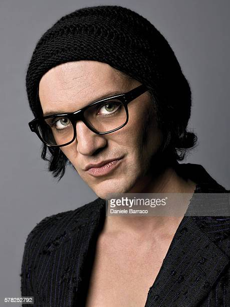 Musician Brian Molko is photographed for Self Assignment in 2012