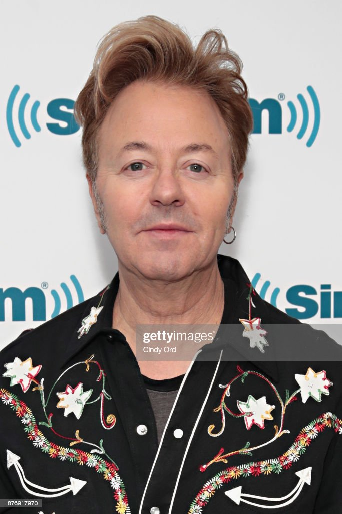 Musician Brian Setzer visits the SiriusXM Studios on November 20, 2017 in New York City.