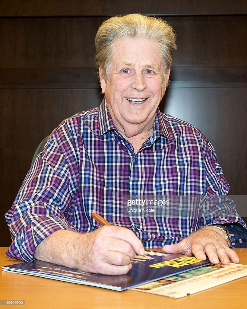 """In-Store Appearance With Brian Wilson For His New CD """"No Pier Pressure"""""""