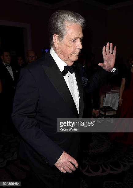 Musician Brian Wilson attends the cocktail reception during the 73rd Annual Golden Globe Awards at The Beverly Hilton Hotel on January 10 2016 in...
