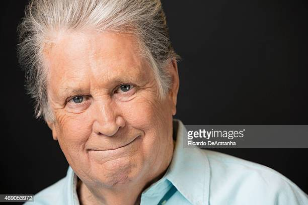 LOS ANGELES CA MARCH 12 2015 Musician Brian Wilson is photographed for Los Angeles Times on March 12 2015 in Hollywood California PUBLISHED IMAGE...