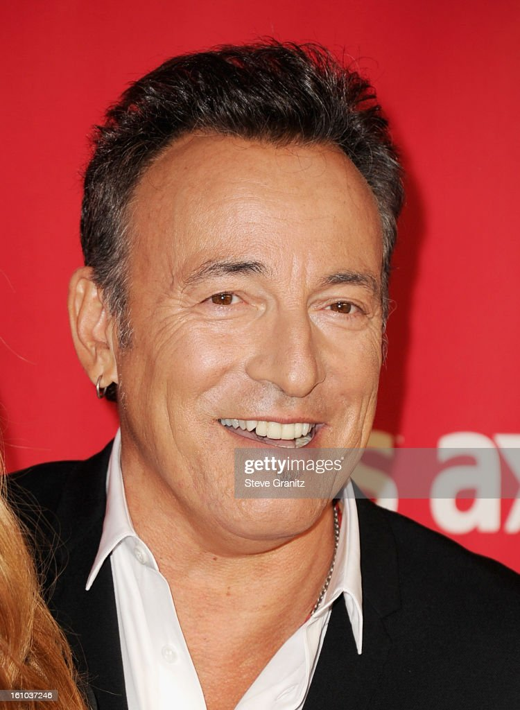 Musician Bruce Springsteen attends MusiCares Person Of The Year Honoring Bruce Springsteen at Los Angeles Convention Center on February 8, 2013 in Los Angeles, California.