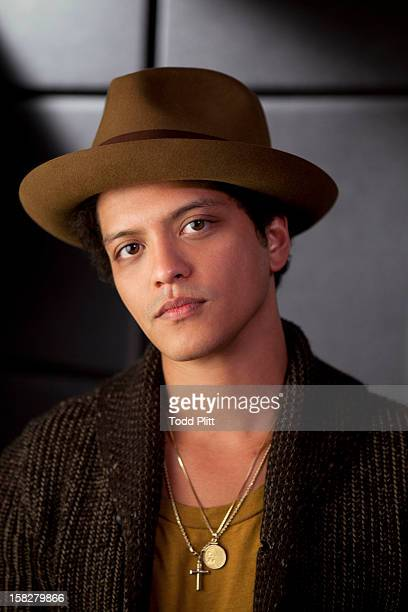 Musician Bruno Mars is photographed for USA Today on November 5 2012 in New York City