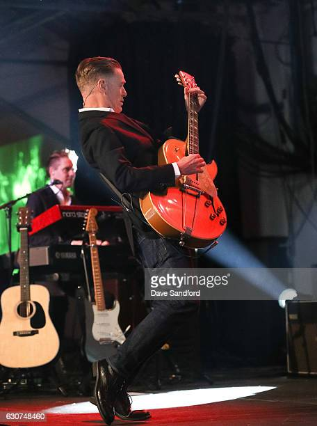 Musician Bryan Adams performs during the NHL Centennial Classic New Year's Eve Celebration at Muzik Event Center on December 31 2016 in Toronto Canada