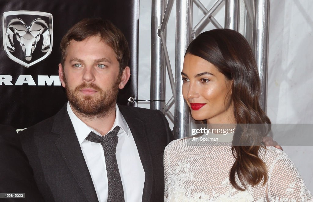 Musician <a gi-track='captionPersonalityLinkClicked' href=/galleries/search?phrase=Caleb+Followill&family=editorial&specificpeople=210594 ng-click='$event.stopPropagation()'>Caleb Followill</a> and model <a gi-track='captionPersonalityLinkClicked' href=/galleries/search?phrase=Lily+Aldridge&family=editorial&specificpeople=2110490 ng-click='$event.stopPropagation()'>Lily Aldridge</a> attend the 'August: Osage County' premiere at Ziegfeld Theater on December 12, 2013 in New York City.