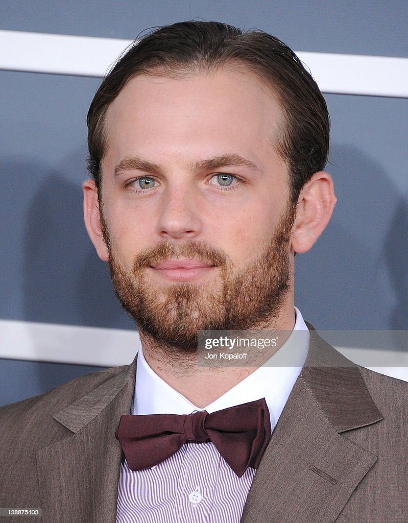 Musician <a gi-track='captionPersonalityLinkClicked' href=/galleries/search?phrase=Caleb+Followill&family=editorial&specificpeople=210594 ng-click='$event.stopPropagation()'>Caleb Followill</a> of Kings of Leon arrives at 54th Annual GRAMMY Awards held the at Staples Center on February 12, 2012 in Los Angeles, California.