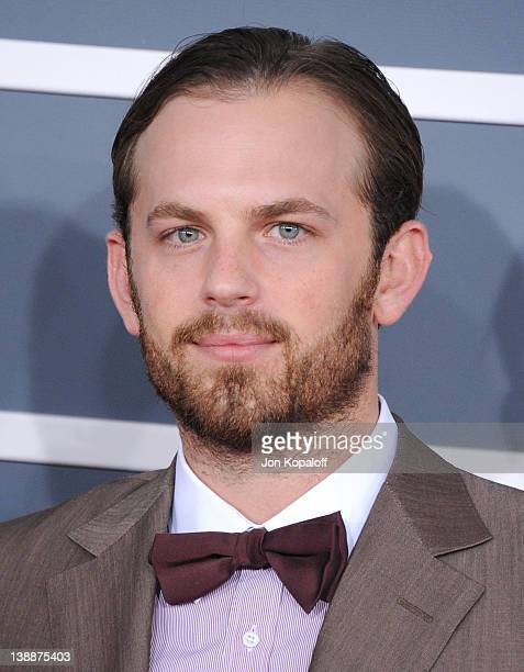 Musician Caleb Followill of Kings of Leon arrives at 54th Annual GRAMMY Awards held the at Staples Center on February 12 2012 in Los Angeles...