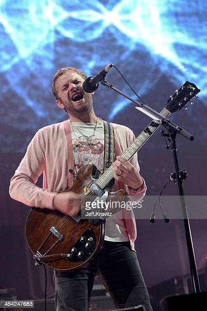 Musician Caleb Followill of Kings of Leon performs onstage at the 24th Annual KROQ Almost Acoustic Christmas at The Shrine Auditorium on December 7...